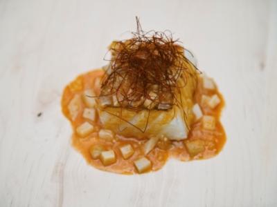 Menú 2 - Bacalao al Curry Rojo con Tupinambos 3