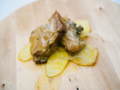 Menú 4 - Lechazo Churro Confitado al Aroma de Tomillo con Patata Panadera 3