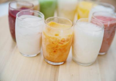 Sorbete de Mandarina al Vodka